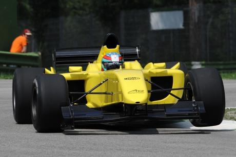 Nieuwe A1 GP bolide in actie
