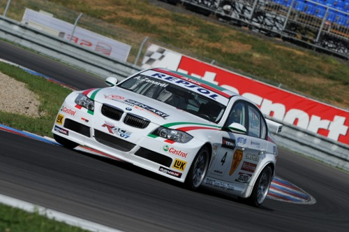 Alessandro Zanardi pakt Pole