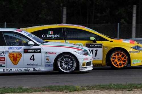 Gabriele Tarquini en Alessandro Zanardi
