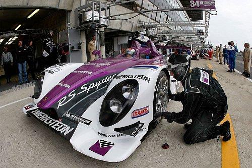 Jos Verstappen in Le Mans