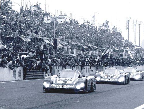 Jan Lammers wint Le Mans