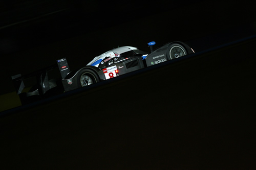 Peugeot at night