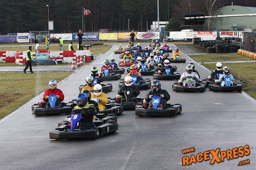 Oliebollenrace Op Kartbaan In Berghem Knallende Afsluiter Van Het Jaar Racexpress