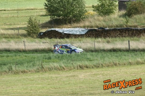 Dennis Kuipers in Tank S Rally