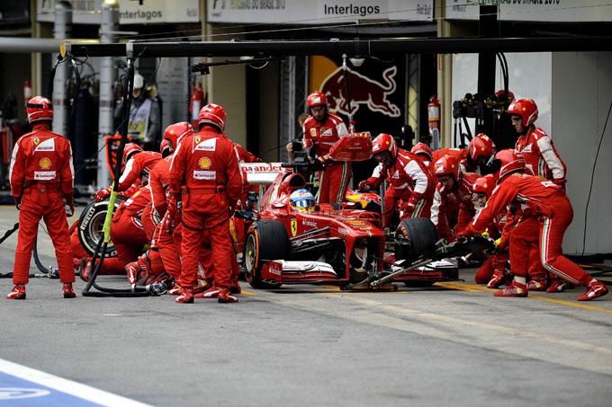 Ferrari Wint Toch Nog Iets Snelste Pitstops In Het