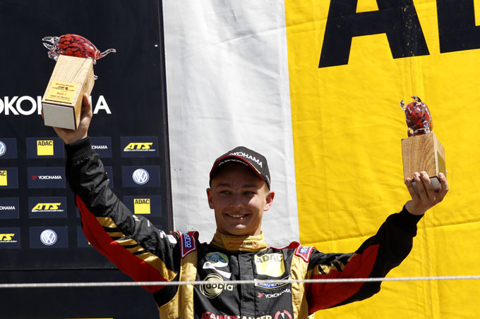 Indy Dontje podium Formul 3 RedBull Ring Spielberg racexpress