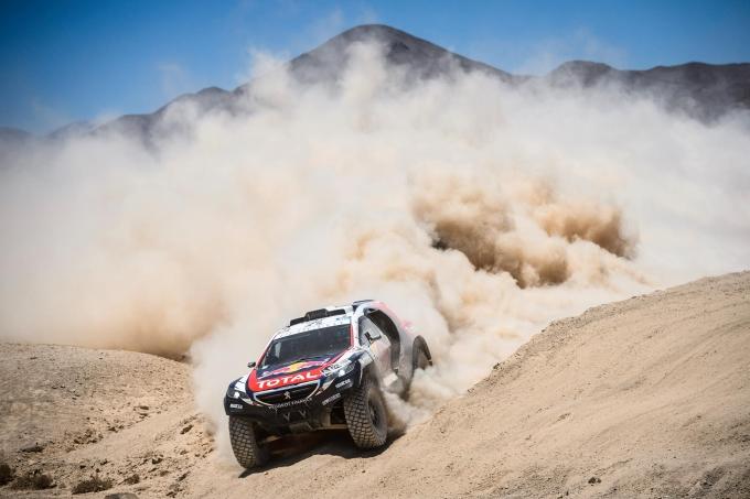 Dakar Rally 2016 door drie verschillende landen, trucks ...