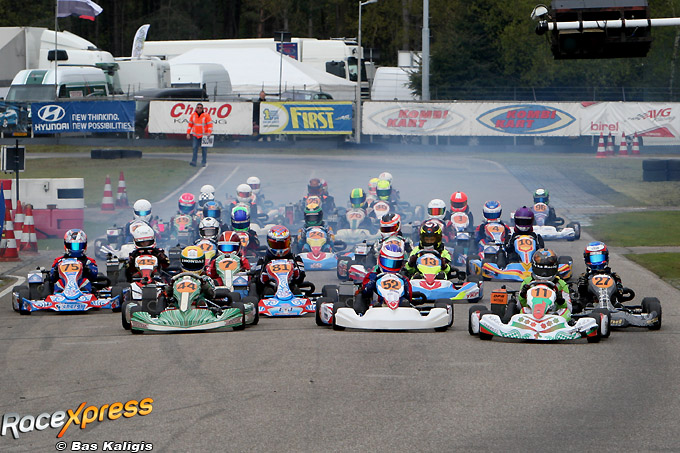 Uitslagen Nederlands Kampioenschap Karting Race 2 Rotax Max Op Kartcircuit Berghem Racexpress