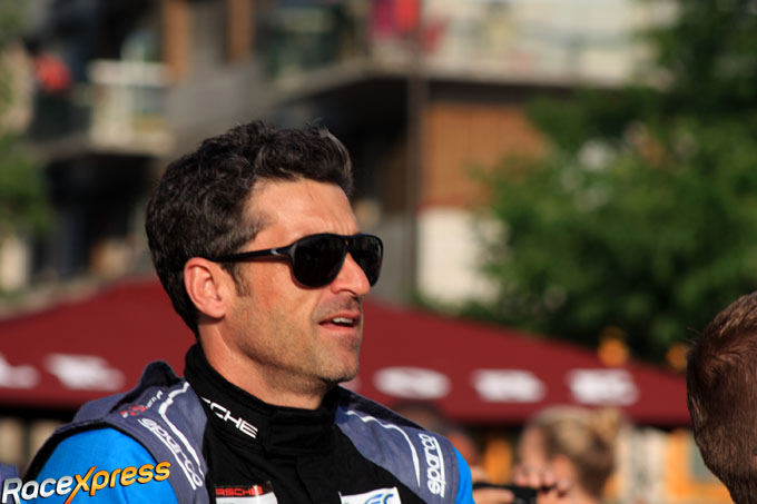 podium patrick dempsey in 24h of le mans grootste succes in zijn autosportcarri re racexpress. Black Bedroom Furniture Sets. Home Design Ideas