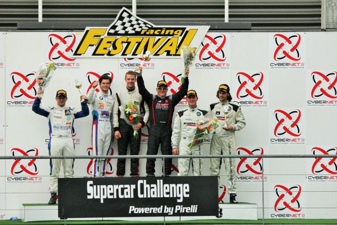 SC podium SuperGT
