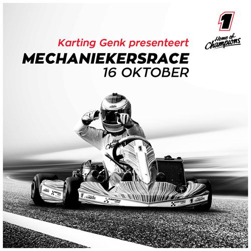 Karting Genk recreantenrace of mekaniekersrace