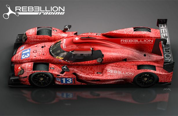 Rebellion Racing Livery