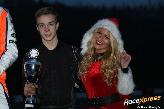 Anthonie Overbeek en kissmiss Christmas babe
