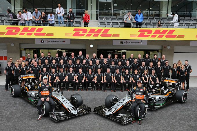 Formula 1 Sahara Force India 2017