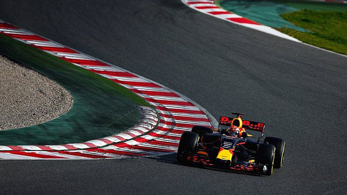 Max Verstappen Red Bull Racing Barcelona