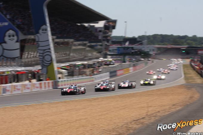 Start 24 Hours of Le Mans