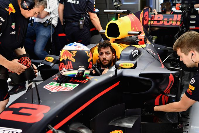 Daniel Ricciardo Red Bull Racing Grand Prix Groot-Brittannië