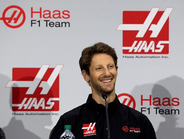 Romain Grosjean Haas F1 Grand Prix Groot-Brittannië