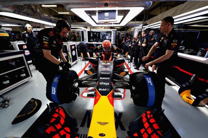 Max Verstappen Red Bull Racing Grand Prix Groot-Brittannië