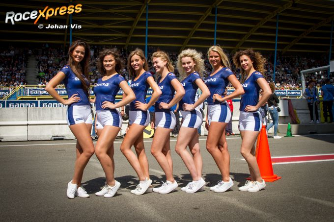 Babes Gamma Racing Day Assen