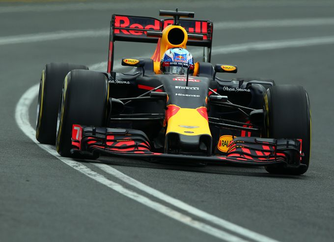 Daniel Ricciardo Red Bull Racing Grand Prix Italië