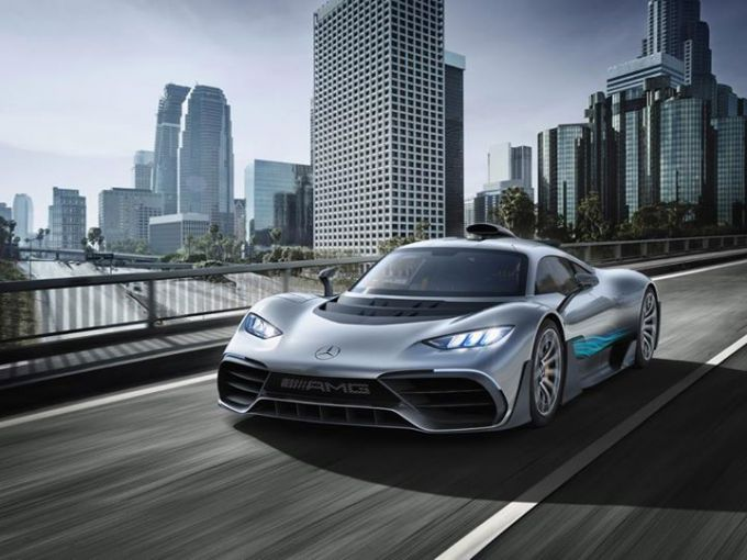 Mercedes AMG Project One hypercar