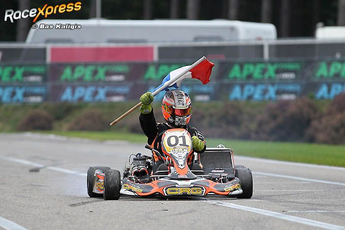 Joey Hanssen en Kart Support