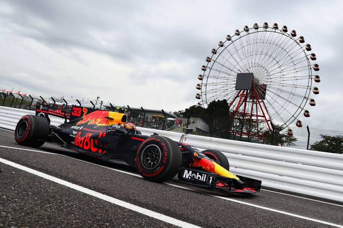 Max Verstappen Red Bull Racing Grand Prix Japan