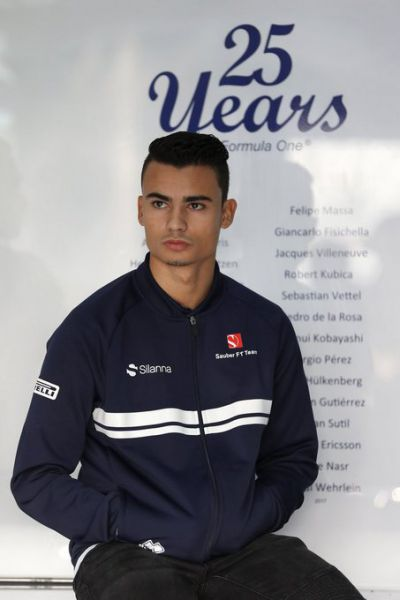 Formule 1 2017 Pascal Wehrlein