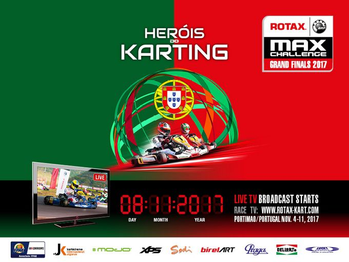 LIVE-STREAMING 2017 Rotax Max Challenge Grand Finals in Portimao Portugal