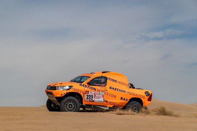 Rallye Dakar 2018 Maik Willems Bastion Rally Team