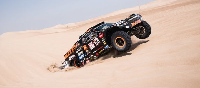 Tim en Tom Coronel the Beast Dakar 2018