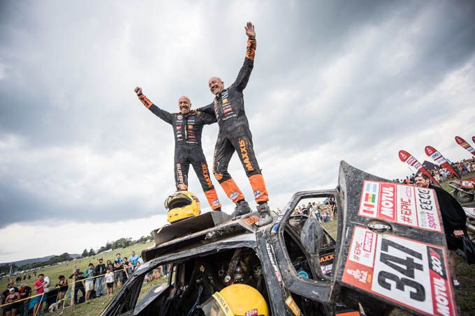 Tim en Tom Coronel Dakar Rally 2018