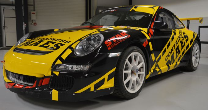 Patrick Snijers Porsche 997 GT3 in BK Rally + LIVERY
