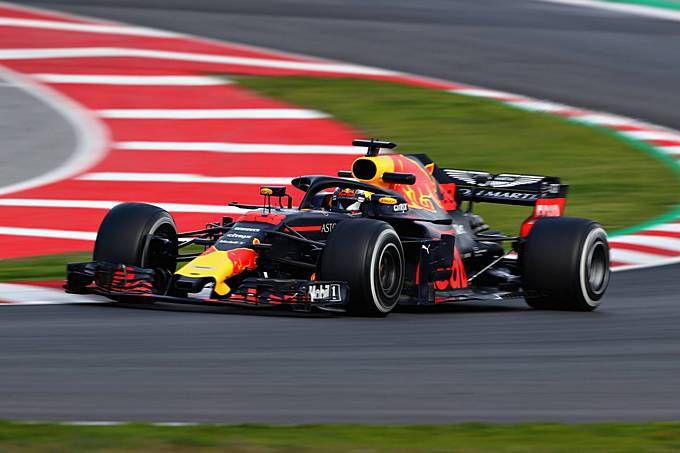 Red Bull Voorlopig Geslaagd In Missie Met Rb14 Max Verstappen
