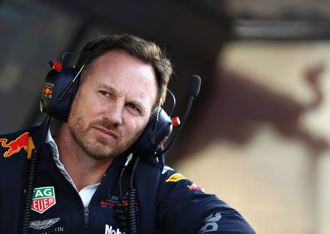 Christian Horner Red Bull Racing Grand Prix Bahrein