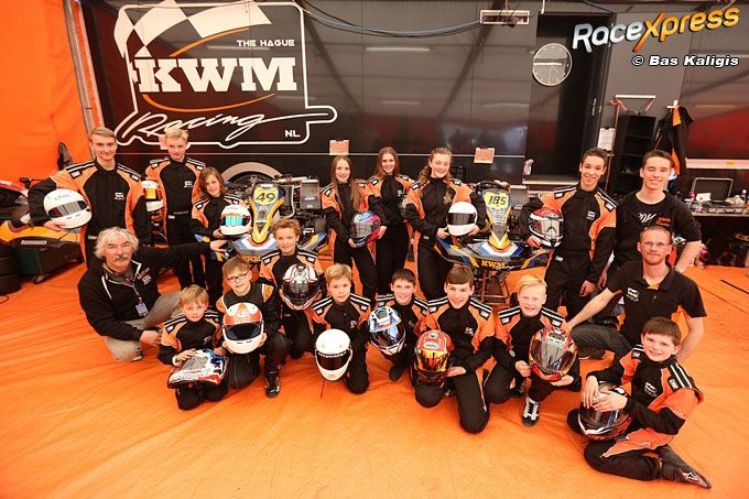 KWM Racing line up 2018 talenten in de dop