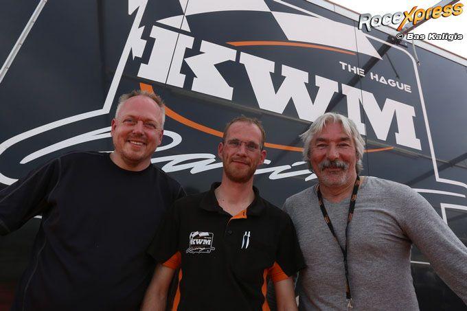 KWM Racing Will Huizer, Mathieu van Renssen en Eric van Es