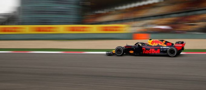 Max Verstappen Red Bull Racing Grand Prix China