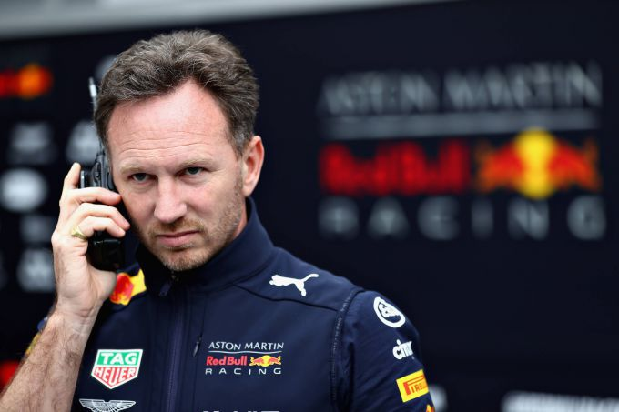 Christian Horner Red Bull Racing Grand Prix Spanje
