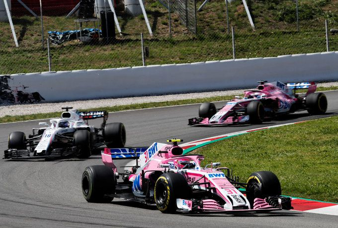 Formule 1 2018 Force India