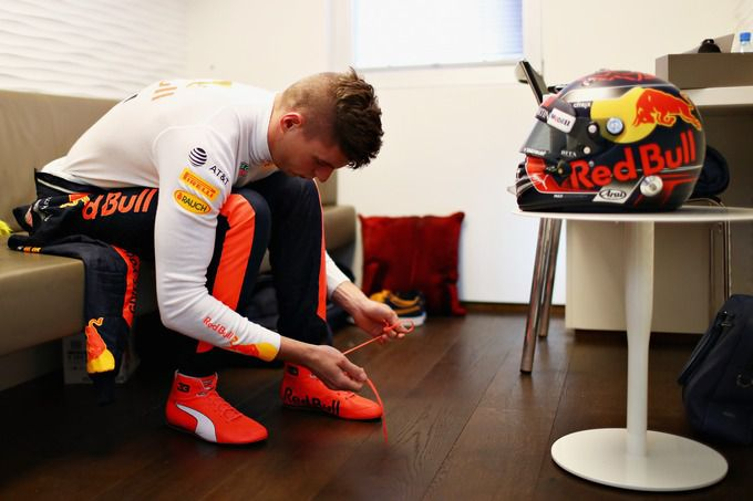 Max Verstappen ready to go