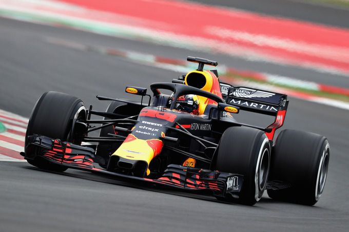 Max Verstappen Red Bull Racing Grand Prix Spanje