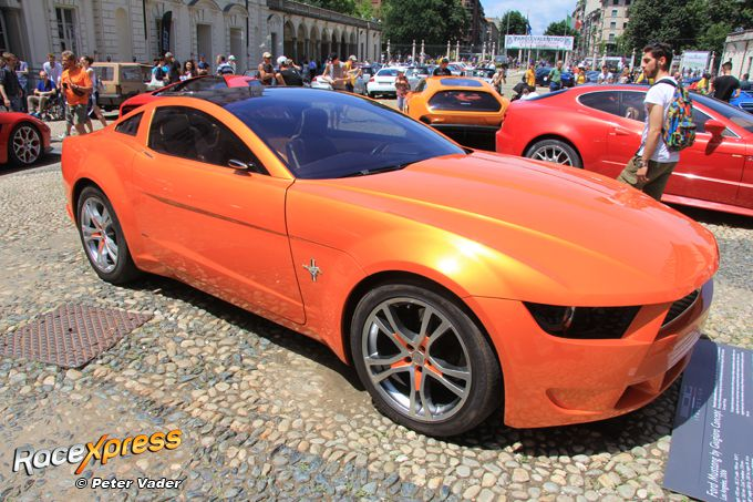 Ford Mustang by Giugiaro Concept RX foto Peter Vader