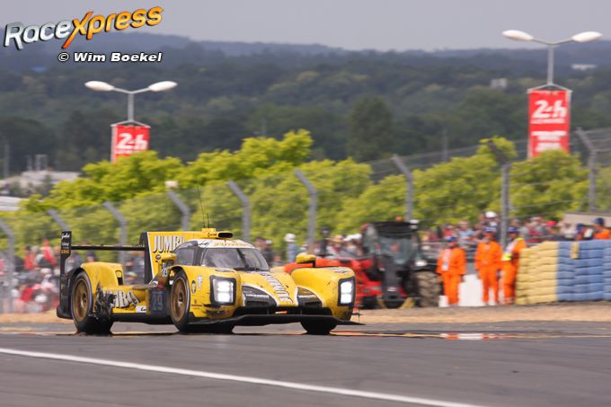Racing Team Nederland P7 in de LMP2 24U van Le Mans