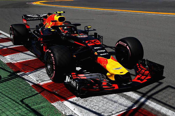 Max Verstappen F1 Red Bull podium in Canada