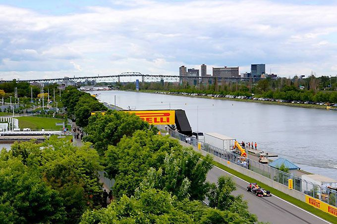 Montreal wheatherforecast Gilles Villeneuve Circuit Formula One GP