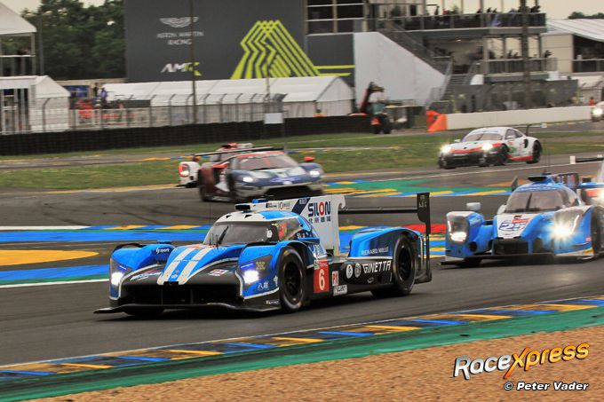 Ginetta chicane Le Mans RX foto Peter Vader