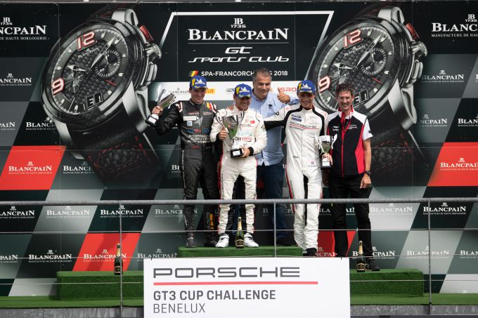 PGT3CCB Spa 2018 Podium