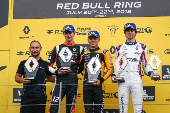 Podium en kostbare punten voor Richard Verschoor op de Red Bull Ring